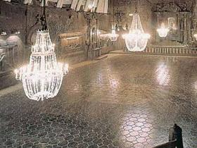 Zabytkowe kopalnia w Wieliczce
